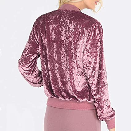 Amazon.com: Makeupstore Shirts Teens,Womens Ladies Velvet Cardigan Baseball Jacket Coat: Clothing