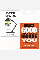 Deep work, so good they can't ignore you 2 books collection set