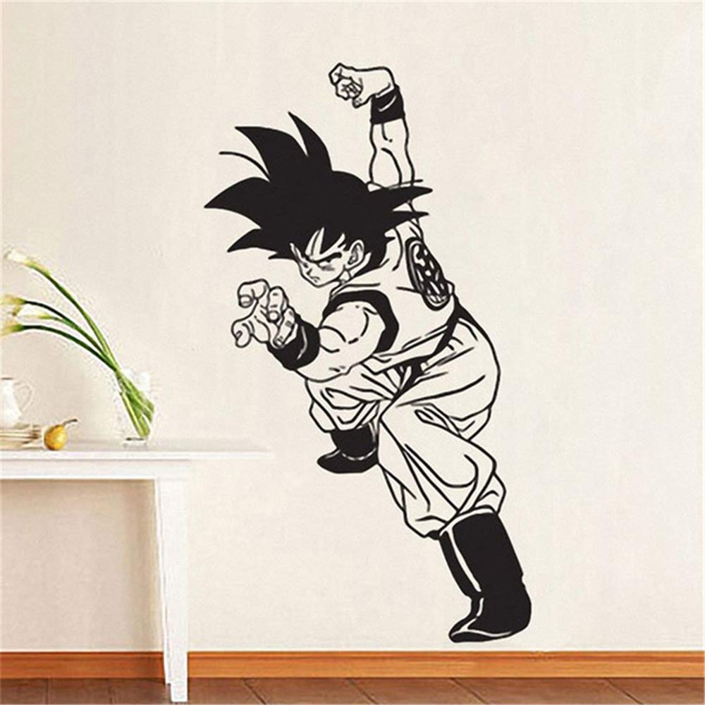 Dragon Ball tatuajes de pared Dragon Ball Z Goku Boy tatuajes de ...