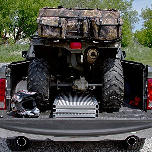 94x54 Solid Surface Tri-Fold ATV Pickup Truck Ramp by Black Widow (Image #5)