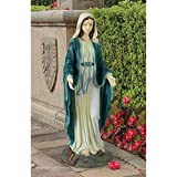 Design Toscano Virgin Mary the Blessed Mother of the Immaculate Conception Religious Garden Statue, 23 Inch, Polyresin, Full Color Review