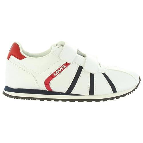 Zapatillas Deporte de Niño y Niña y Mujer Levis VALA0006S ALMAYER 0061 White: Amazon.es: Zapatos y complementos