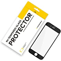 RhinoShield iPhone 7 9H 3D Curved Tempered Glass Screen Protector 9H 3D Curved Tempered Glass Screen Protector [Scratch Resistant] Perfect Transparency and Premium Feel - Black