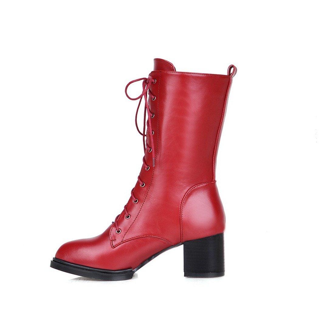 ZQ@QX Tipp der Woche für Dicke mit hochhackigen hochhackigen hochhackigen Schuhe stilvolle und vielseitige high-Schraube hilft Studenten Damen Stiefel 61fbc8