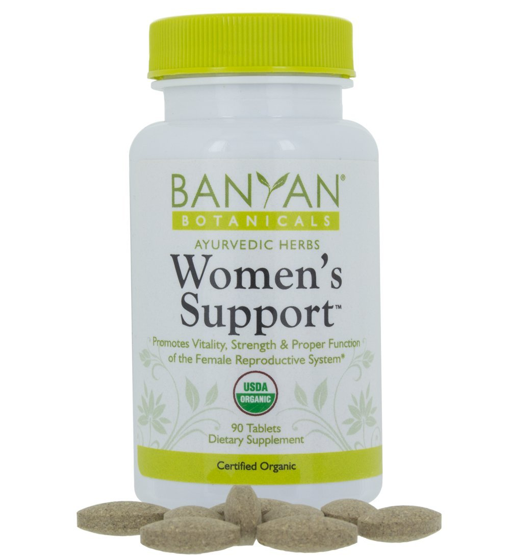 Banyan Botanicals Women's Support - USDA Organic, 90 Tablets - Herbal Support for Hormone Balance, Menstrual Relief* by Banyan Botanicals