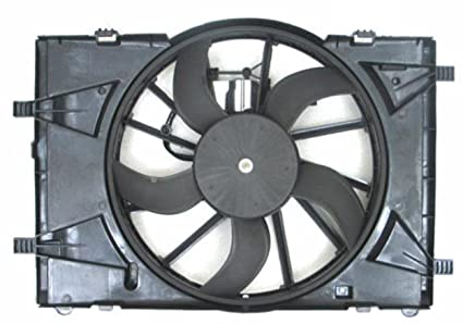 Depo 330-55063-000 Radiator/Air Conditioner Fan Assembly (FORD FUSON/
