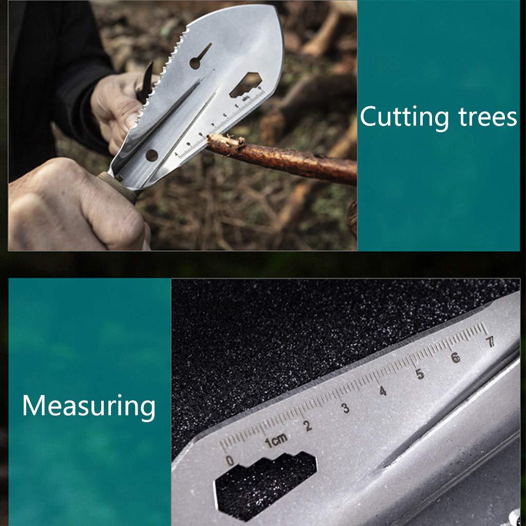 pala con guaina in acciaio INOX Metal Detector Attrezzo da scavare da giardino