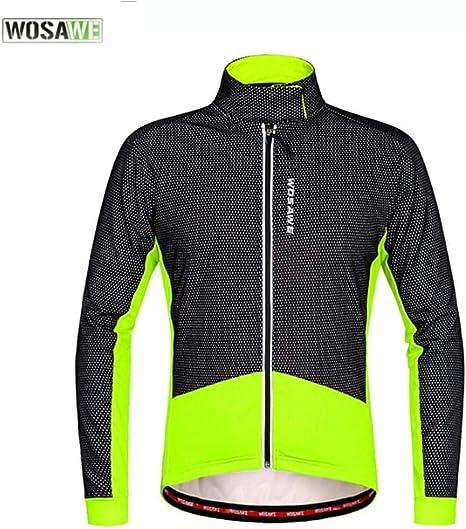 Knight otoño de Ropa al Aire Libre y Paseos de Invierno Ropa de Lana Caliente de la Bicicleta de Manga Larga Camisa Chaqueta BC286-R Negro Verde Rojo Negro Montar al Aire Libre: