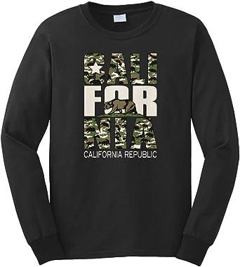 New Men/'s White Cali Bear Camo Hoodie California Republic Cali Life Flag Pride
