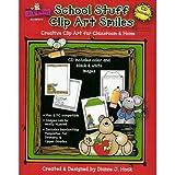 School Stuff Clip Art Smiles, Dianne Hook, 1594413126