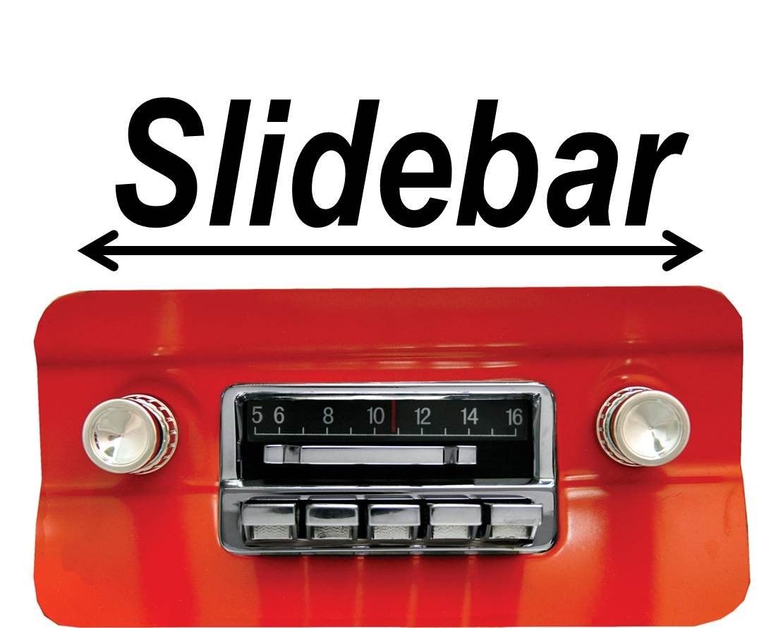 Custom Autosound Stereo Compatible With 1964 1966 66 Mustang Wiring Harness Aftermarket 300 Watt Slidebar Am Fm Car Radio Electronics
