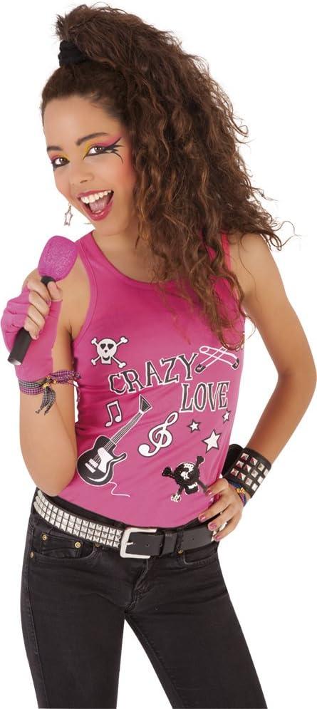 Funny Costumes - Accesorio de disfraz, Set de rockera, para niños ...