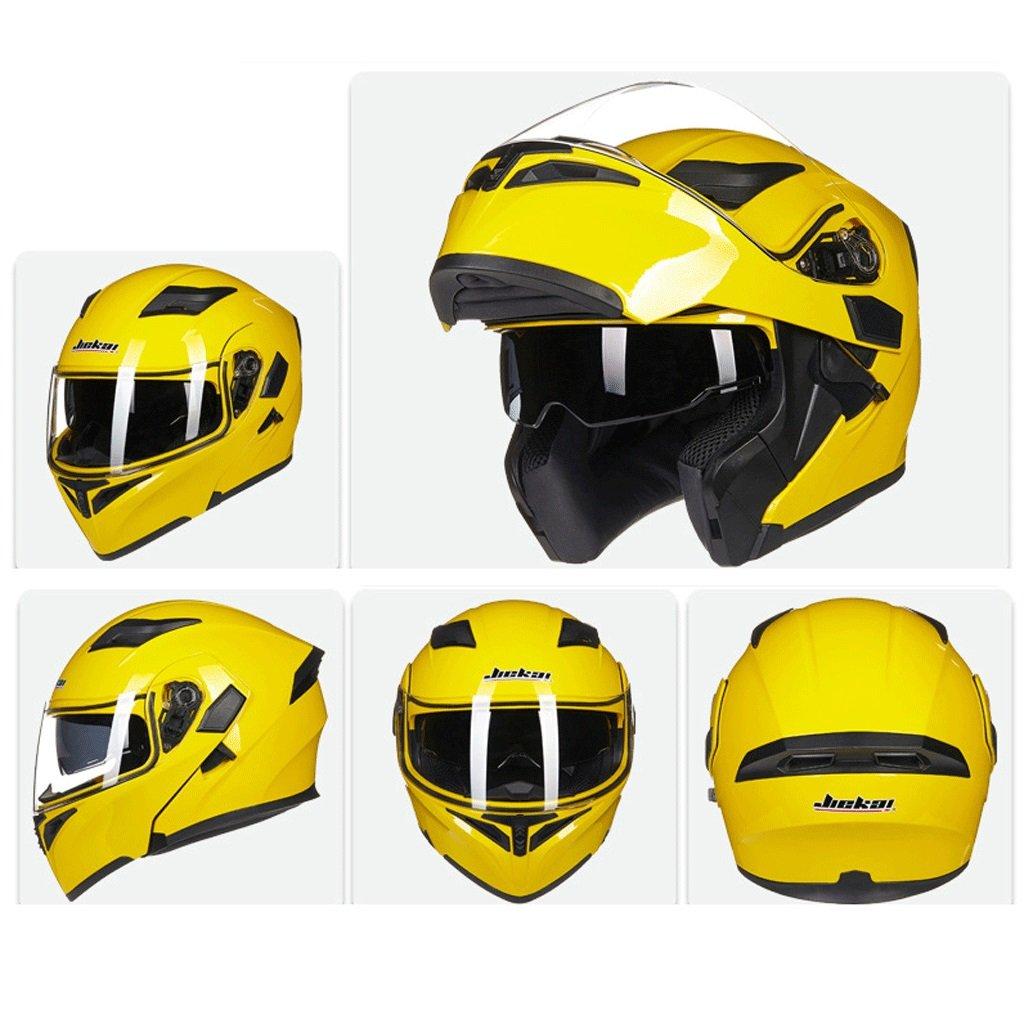 DGF ヘルメットダブルレンズオープンフェイスヘルメットオートバイ機関車トラムプロフェッショナルレーシングスポーツライト快適な多色オプションの男性と女性 (色 : F f, サイズ さいず : XL) B07FNP1KZX X-Large|F f F f X-Large