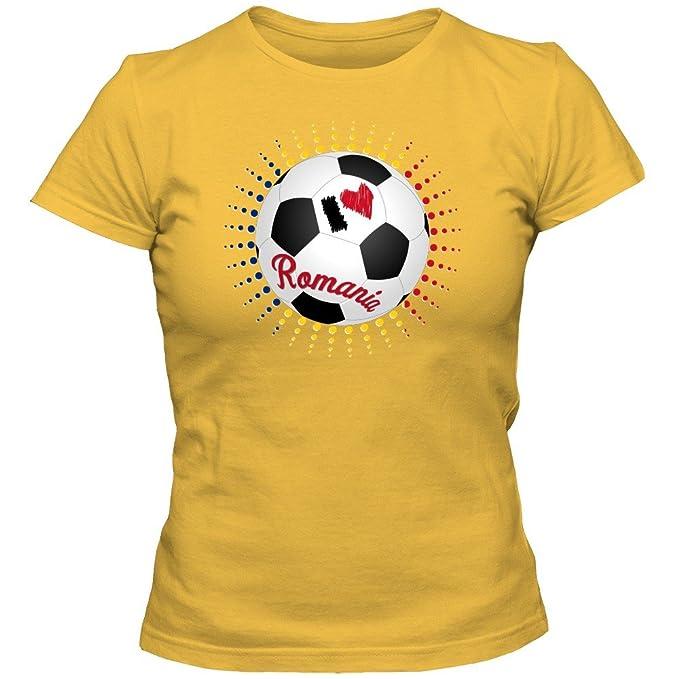 Rumania Campeonato de Europa 2016#6 Camiseta | Mujer | Fútbol | T-Shirt