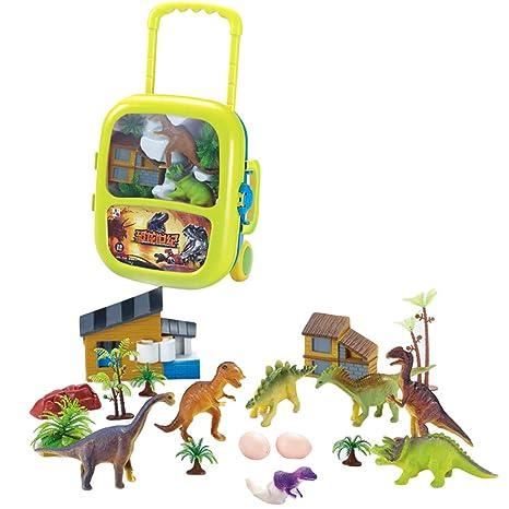 bf88d0911 Toyvian Mini Juego de Juguete de Dinosaurio Figuras de Dinosaurio realistas  Juguetes para niños pequeños Juguetes