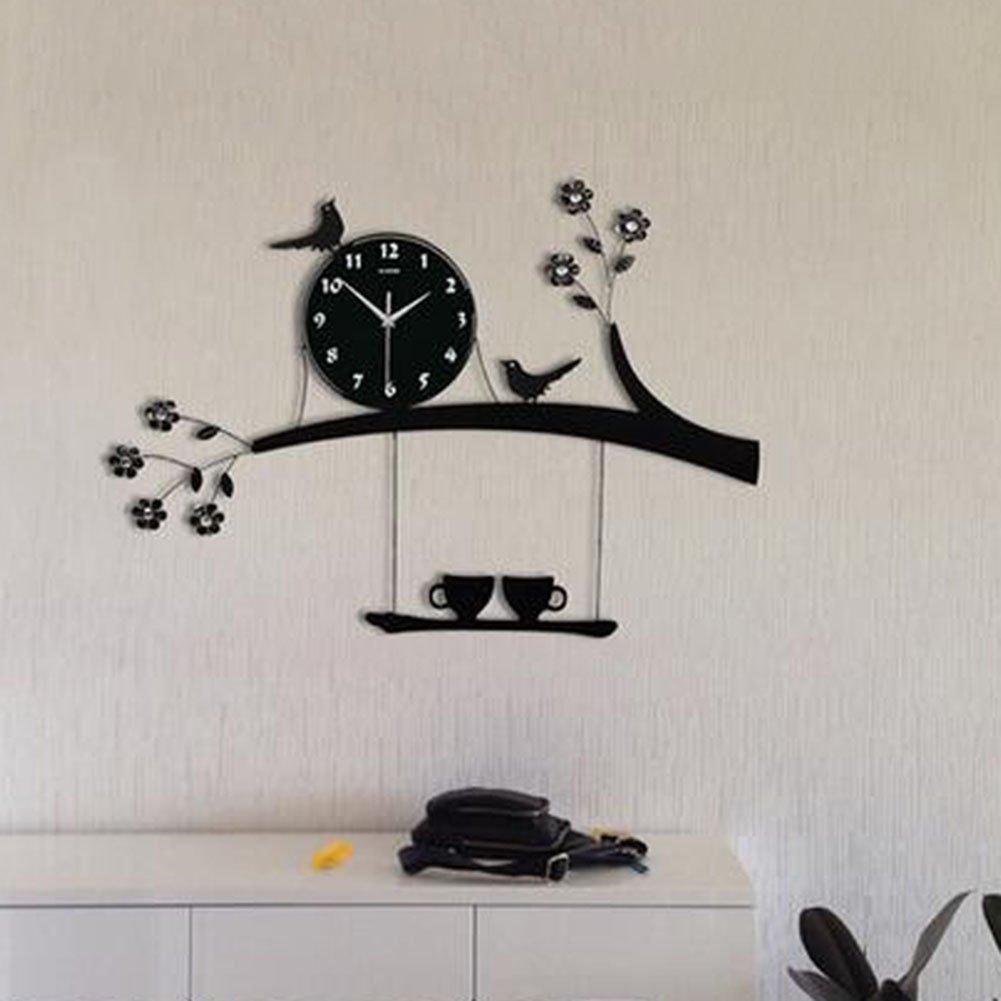 odd shaped wall clocks decorative