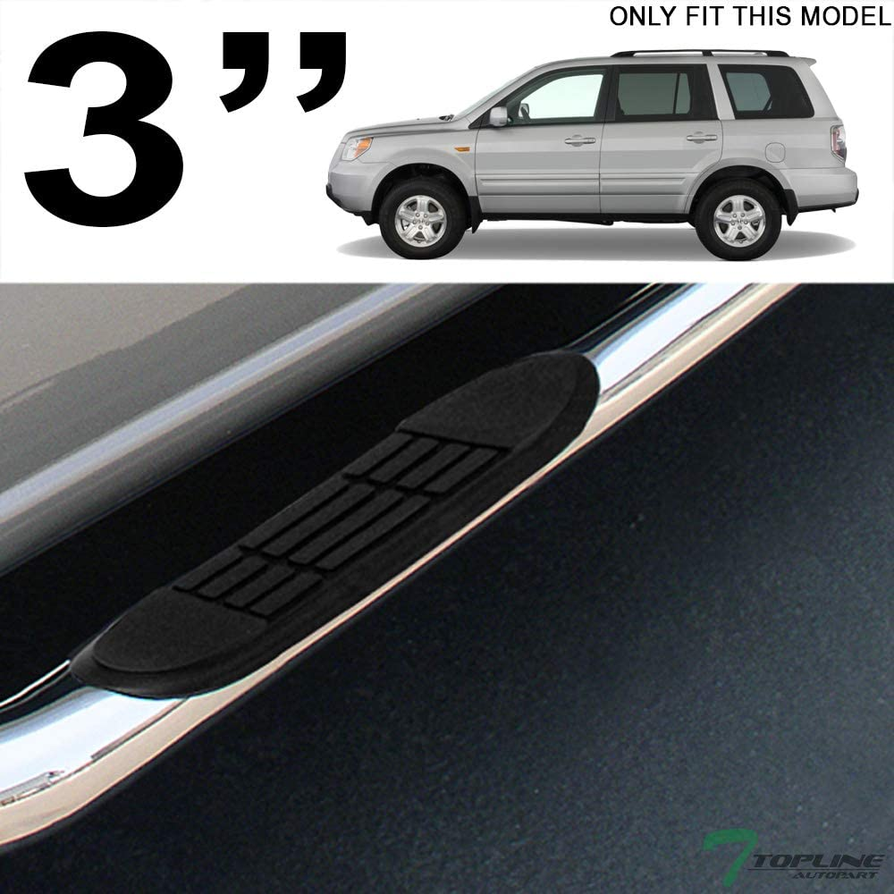 "Fit 2001-2006 Acura MDX 3/"" Side Step Nerf Bars 03-08 Pilot S//S Running Boards"