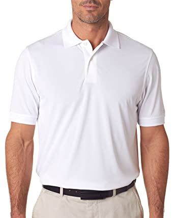 b552bd25712 Image Unavailable. Image not available for. Color: IZOD Performance  Polyester Mens Solid Polo Shirt ...