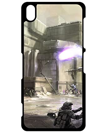 Dennis Walking Dead's Shop Sony Xperia Z3 Compact Cover, Halo 3 ODST