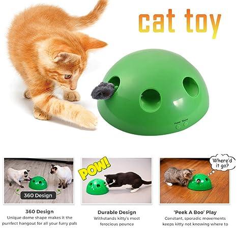 alikena - Juguete de Gato eléctrico N Play Motion Interactivo ...