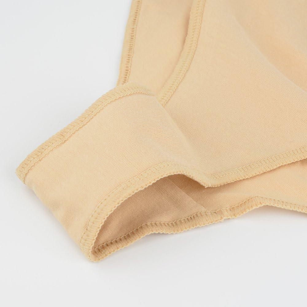 Skyrocket 3 Pacco Slip da Danza Ragazze Donne Balletto Shorts Beige Panty