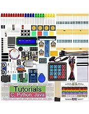 Freenove RFID Starter Kit per Raspberry Pi 4 B 3 B+, 423 Pagine Guide Dettagliate, Python C Java, 204 Elementi, 53 progetti, Scopri l'elettronica e la Programmazione, breadboard Senza Saldatura