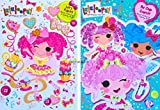 Lalaloopsy Children's Coloring & Activity Books Set Of 2 by MGA
