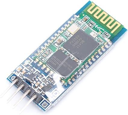 Willwin HC-06 M/ódulo Serial inal/ámbrico de comunicaci/ón Serial con Bluetooth Compatible con Arduino