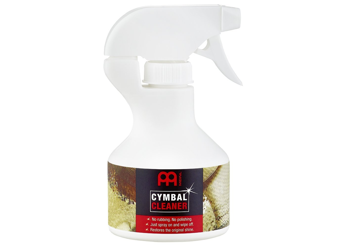 Meinl Cymbals MCCL Cymbal Cleaner for Traditional and Brilliant Finishes