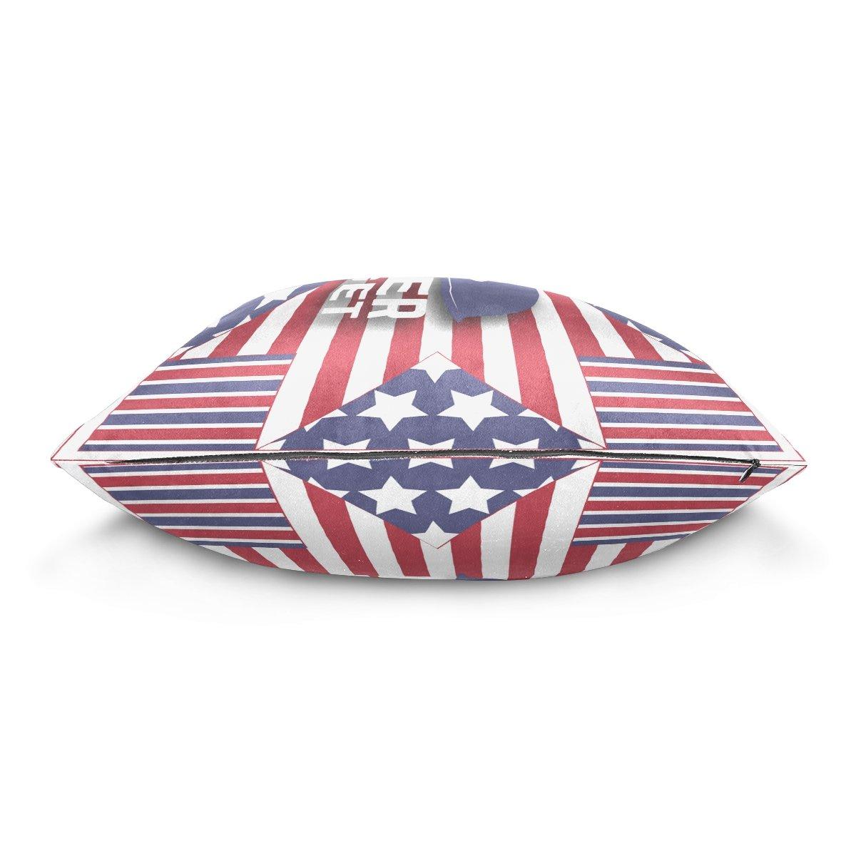 b4516684e727 Amazon.com: LAVOVO HAPPY MEMORIAL DAY EVERYONE Pattern Decorative ...