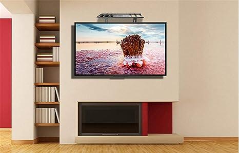 Soporte de pared firme,Soporte de pared para el hogar, sintonizador de televisión, estante, perforación libre, acero en frío, TV, televisor, conjunto de conexión, caja de conexión, soporte para rack, soporte, soporte,: Amazon.es: