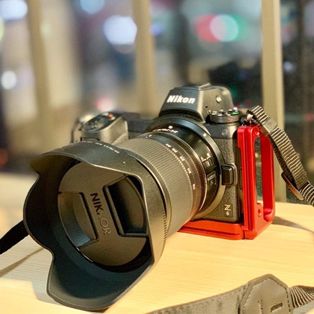 Black First2savvv Quick Release L Plate Bracket Holder Hand Grip for Nikon Z7 Z6
