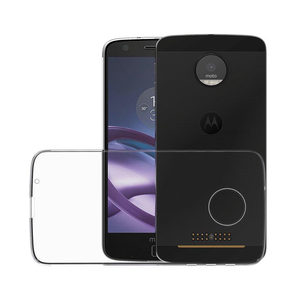 AICEK Funda Motorola Moto Z, Motorola Moto Z Funda Transparente Gel Silicona Motorola Moto Z Premium Carcasa para Motorola Moto Z