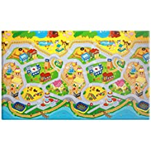 Dwinguler Eco-friendly Baby Playmat / Kids Play Mat - My Town (Large)