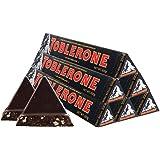 TOBLERONE 瑞士三角 黑巧克力含蜂蜜及巴旦木糖100g*6(瑞士进口)