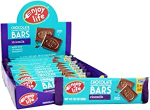 Enjoy Life Foods - Allergy Friendly Chocolate Bars Box Ricemilk - 12 Bars