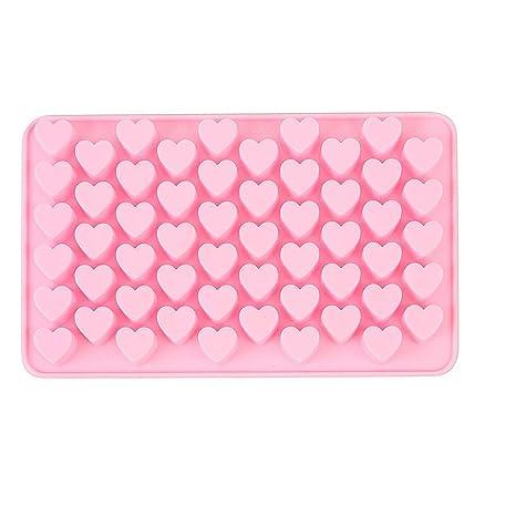 Sencillo Vida Moldes de Silicona para Repostería - - 3D Corazón Molde De Silicona para Magdalenas