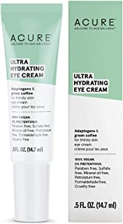 product image for ACURE Ultra Hydrating Eye Cream | 100% Vegan | Intense Moisture for Super Thirsty Skin | Adaptogens & Green Coffee - Deeply Moisturizes | 0.5 Fl Oz