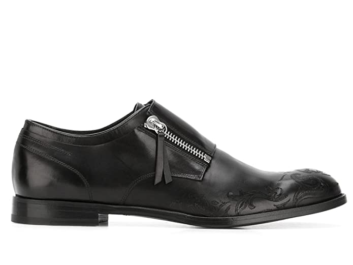 Men's 457332Whp621000 Black Leather Loafers