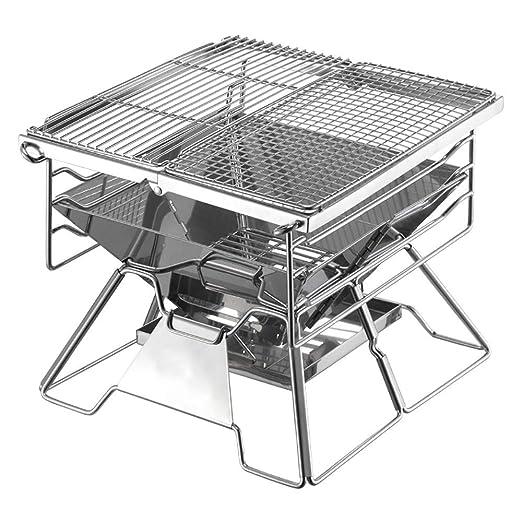 SJAPEX Asado BBQ Parrilla Outdoor Portátil Barbacoa Charcoal ...
