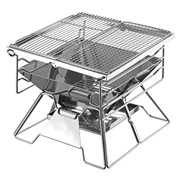 Skyout BBQ Parrilla, Outdoor Portátil Barbacoa Charcoal ...
