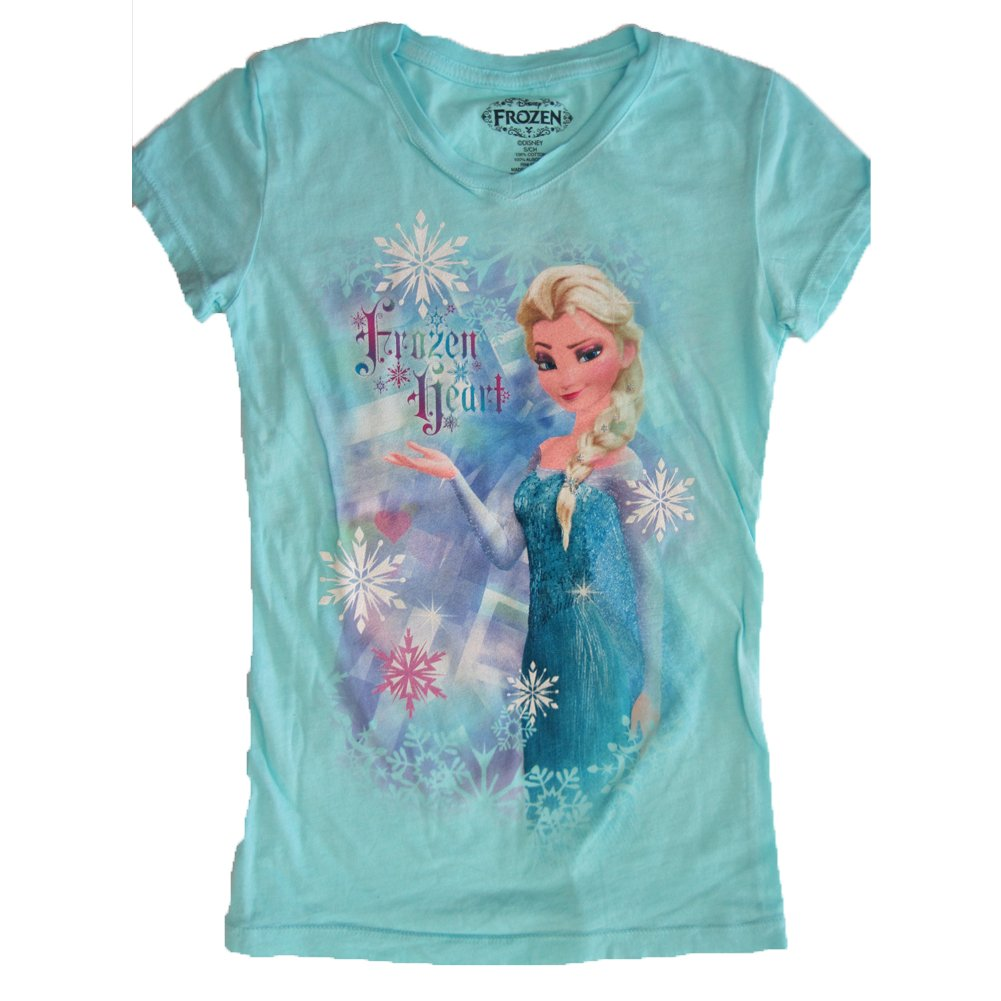 Amazon Disney Little Girls Aquamarine Frozen Elsa Character