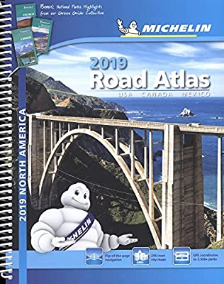 Michelin North America Road Atlas 2019 (Atlas (Michelin))