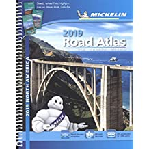 Michelin North America Road Atlas 2019, 17e
