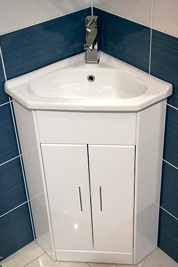 Eckwaschbecken mit unterschrank  E-Plumb York Kompaktes Eckwaschbecken mit passendem Unterschrank ...