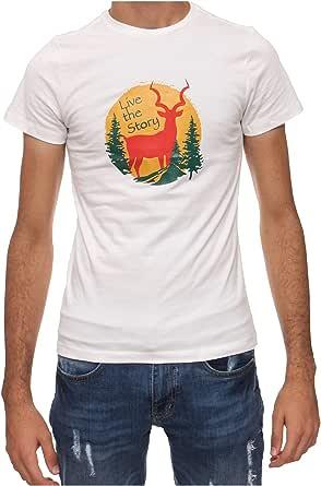Oryx T-Shirt For Men , White - 2724934833425
