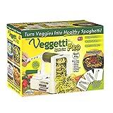Veggetti Pro Veggetable Spiralizer, Multi Purpose Kitchen Tool, Counter Top Spiral Slicer