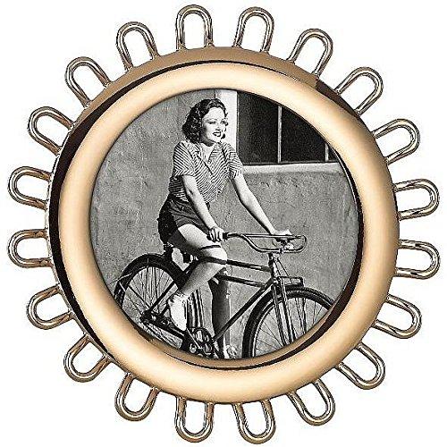 Kate Spade New York 871926 Keaton Street Frame - Gold Round Frame