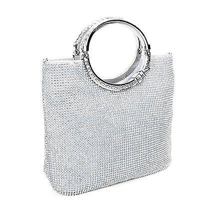 Envelope Style Bag Clutch Bolso de noche elegante del baile de fin de curso del cristal