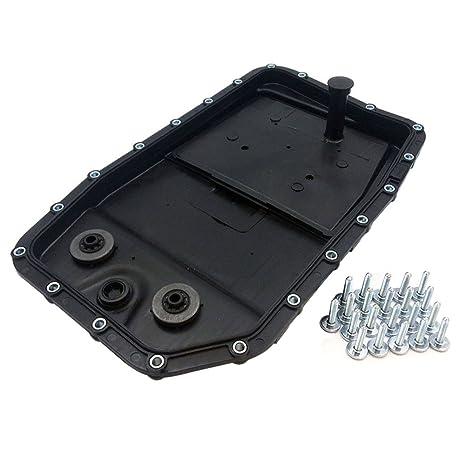 JSD LR007474 Engine 6HP26 Auto Transmission Oil Pan Filter Gasket Screws  for Land Rover Range Rover Sport LR3 LR4 BMW 335d 550i 650i 750i 750Li X5  X6